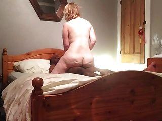 32yo British Ex-gf Sucks & Fucks Her New Bf For Cum