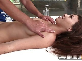 Hot Tiffany Doll Gets A Yoni Massage