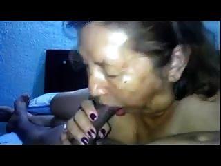 Licking Granny