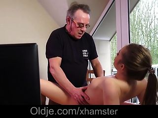 Stunning Teen Wife Caught Old Husband Fucking As Porn Actor