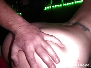 Natural Boob Big Ass Theater Room Gangbang