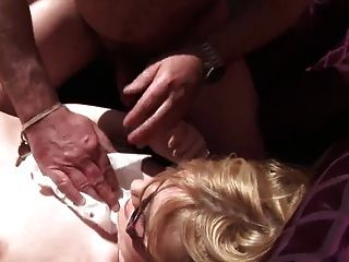 18y Wife Fucked By Senior Front Of The House