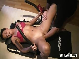 Fisting The Wifes Greedy Pussy