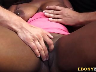 Busty Ebony Lisa Tiffian Gets Dp