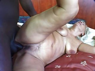 Mature Blonde Buttfucked