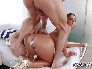 Gabriella Paltrova And Jada Stevens Anal Sex