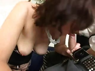 British Milf In Stockings Gets Her Wet Pussy Fucked Hard