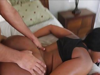 Ebony Girl Fucked In The Bedroom!