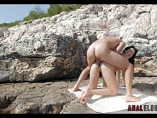Anal Sex On The Rocks