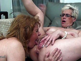 Old lesbian piss