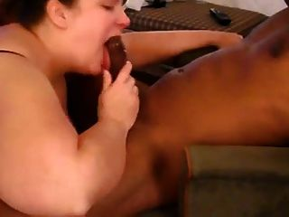 Bbw Rimming And Sucking A Black Cock