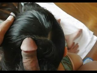 Sexy Long Hair Play, Fucking And Hair Job