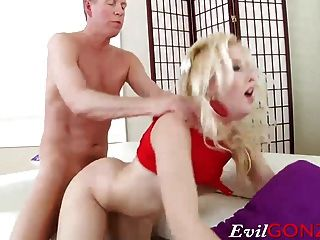 Samantha Rone Getting Her Tight Ass Drilled Hard And Deep