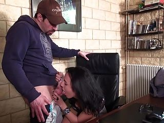 La Cochonne - French Milf Gets Anally Stuffed By Interview