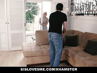 Sislovesme - Teaching My Stepsis To Suck Cock