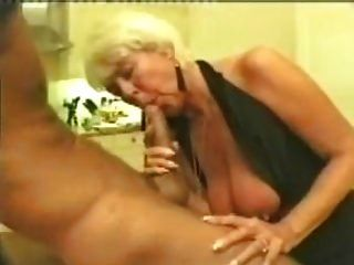 Mature Woman Blowjob