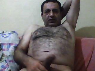 Happy Turkish Bear Jerking Off