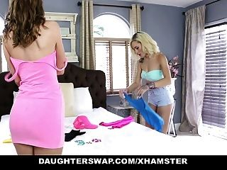 Daughterswap - Teen Daughters Fucked Before Rave