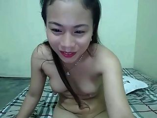 Cute Asian Rubbing It Out