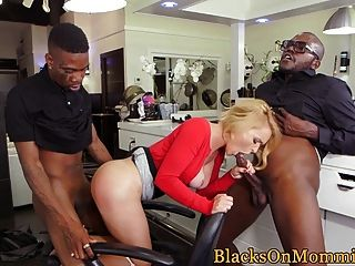Interracial Assfucked Milf Double Penetrated