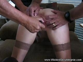 Amateur Threesome Fuck For Melanie