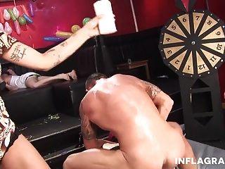 Sexy German Teen And Milfs Gangbang