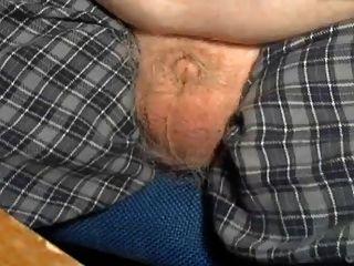 76 Year Old Grandpa Micro Cock Diddling