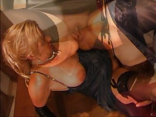 Retro Classic - Amateur Satin Couple In Hot Action