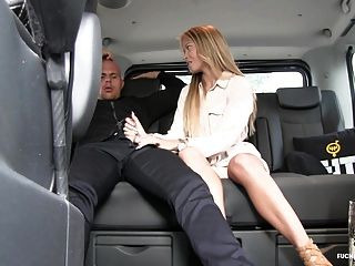 Fuckedintraffic - Angela Christin Gets Fucked In A Van