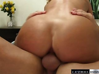 Madison Gets Her Tight Hole Fucked By Step Brother