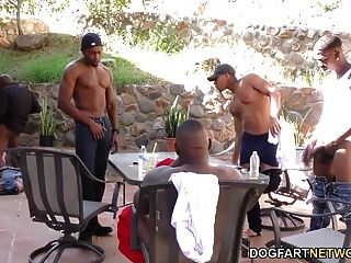 Ryan Riesling Interracial Gangbang
