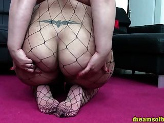 Bbw Pawg Samanthas Fishnetbodysuit Ass - Asshole Worship