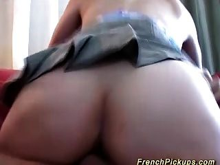 Busty French Teens First Anal Sex
