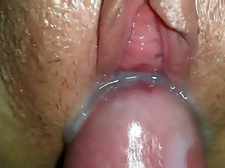 Cumming Over Her Loose Cunt