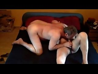 Bear Daddy Breeding Lover In Home