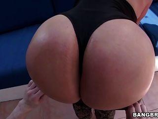 Huge Latina Ass Sandra Gets Banged