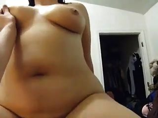 Chubby Mexican Wife On Cock