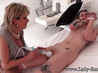 British Milf Sonia Trades Her Car For Pussy