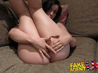 Fakeagentuk Good Hard Fucking For Sexy Ass Brunette