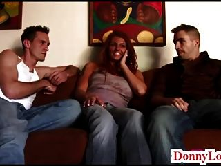 Donny Long Splits Huge Tit Milf Sult Cheating Wife