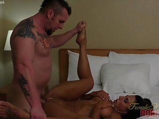 Muscular Briana Beau Gets Fucked In Her Bed
