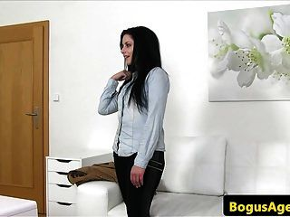 Euro Casted Amateur Sucks For Office Audition