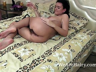 Ramira Masturbates In Bed After Ironing