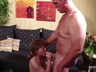 Extrem Skinny German Milf Seduce To Fuck By Neighbour
