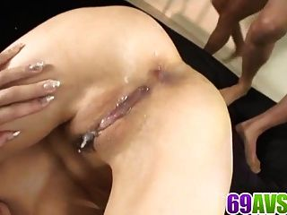 Karen Deals Cock In Both Her Pussy And Ass