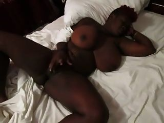 Cum On Those Real African Breasts