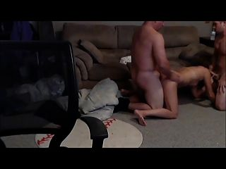 Mature Wife Gets Spitroasted In Threesome