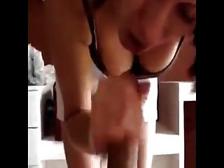 Hot Babe Bends Over To Suck Dick And To Cum In Her Mouth