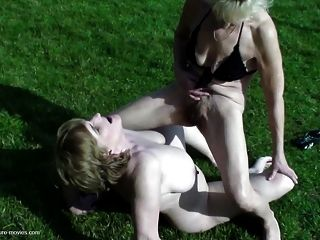 Real Mothers Dominated By Young Boys With Pissing