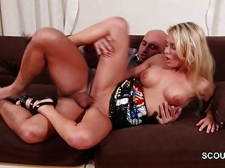 Milf Step-mom Wake Up Step-son To Get His Big Cock